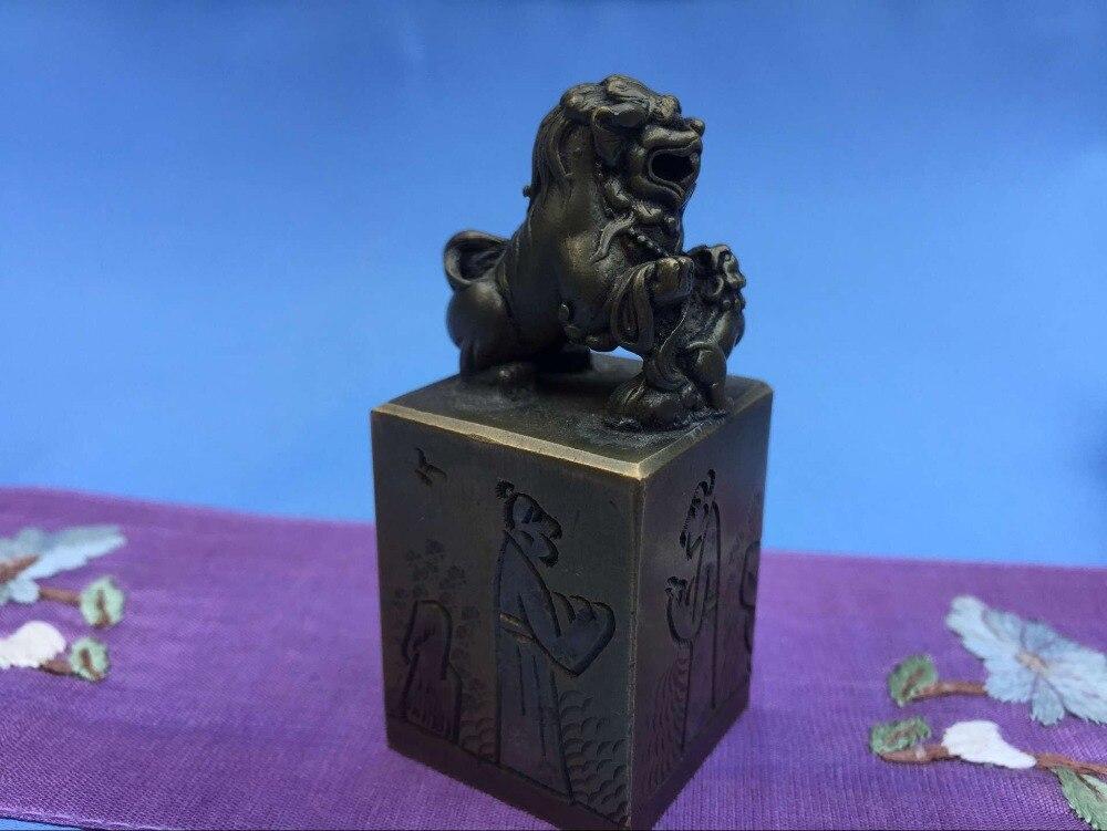 Copper Exquisite Manual Chisel Engraved Seal 2 Pcs/Lot pneumatic jet chisel jex 24