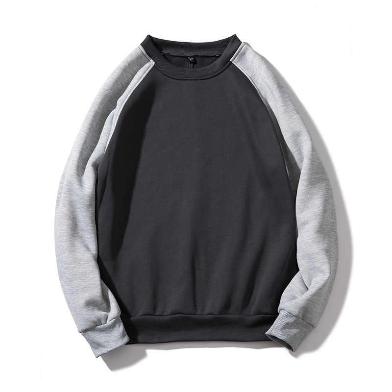 FGKKS Модные мужские толстовки с капюшоном Топ 2019 осень мужской пуловер Мужской худи-свитшот толстовки Одежда ЕС Размер