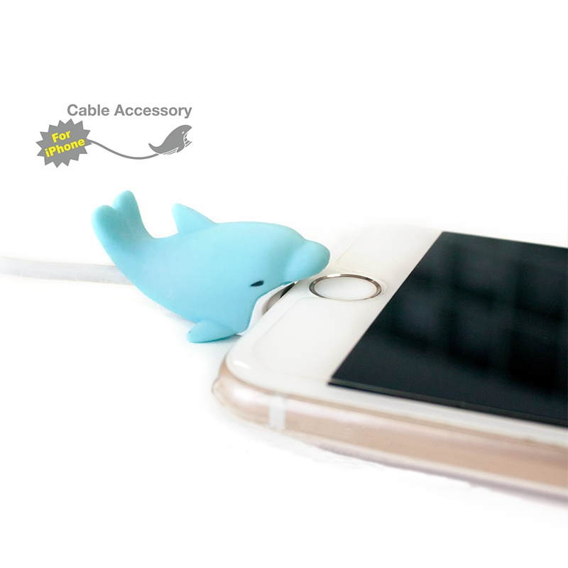 100pcs wholesale 36 types Protector for Iphone cable bite Winder iphone holder Accessory chompers rabbit dog