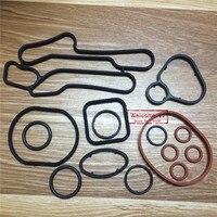 (15 teile/satz) Kühlsystem dichtungssatz Ölkühler Dichtung gummidichtungen O-ring set Für Chevrolet CRUZE 1,6 T PC PE 1,6 T 55354073