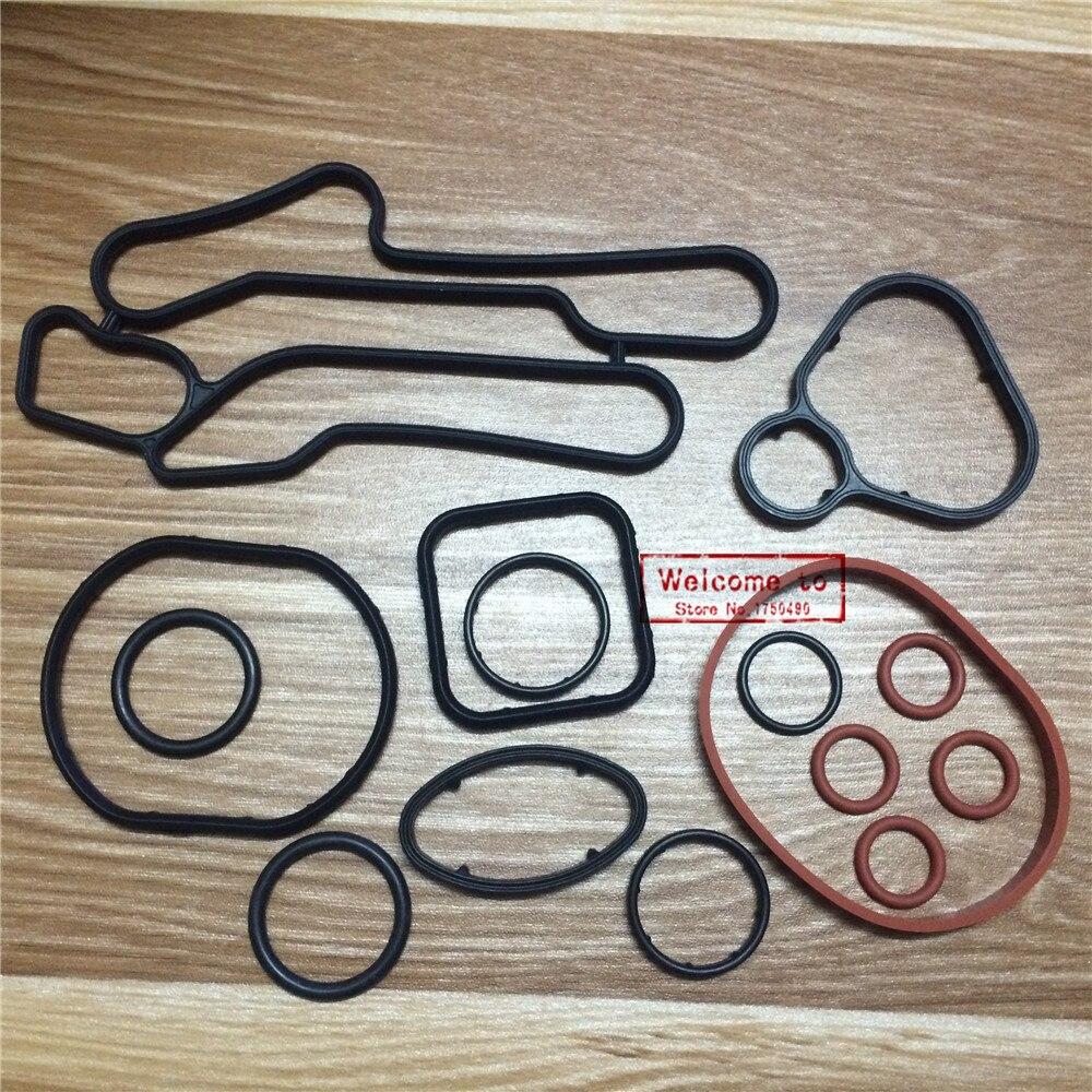 Sparsam (15 Teile/satz) Kühlsystem Dichtung Kit Ölkühler Dichtung Gummi Dichtungen O-ring Set Für Chevrolet Cruze 1,6 T Pc Pe 1,6 T 55354073 Rabatte Verkauf