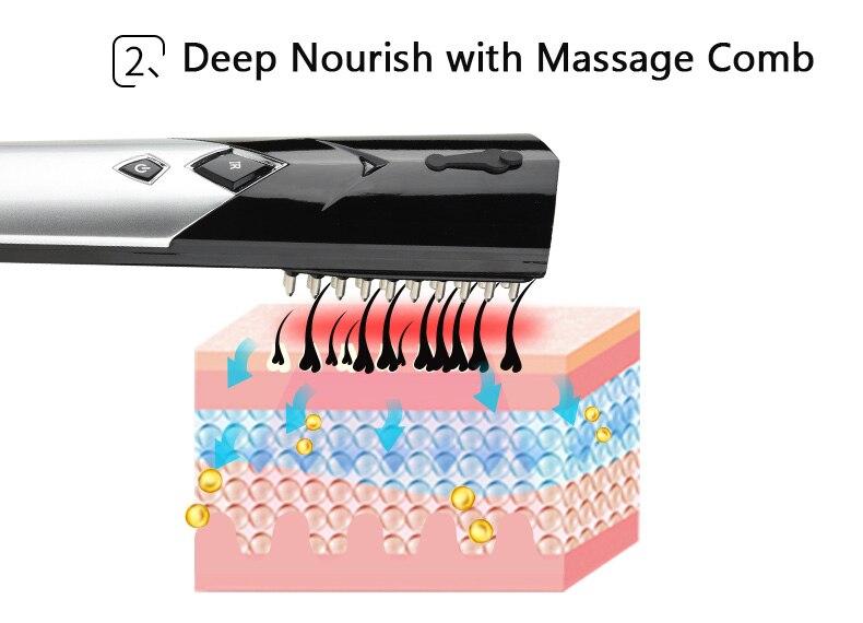 Cabeça de Massagem Massagem Instrumento