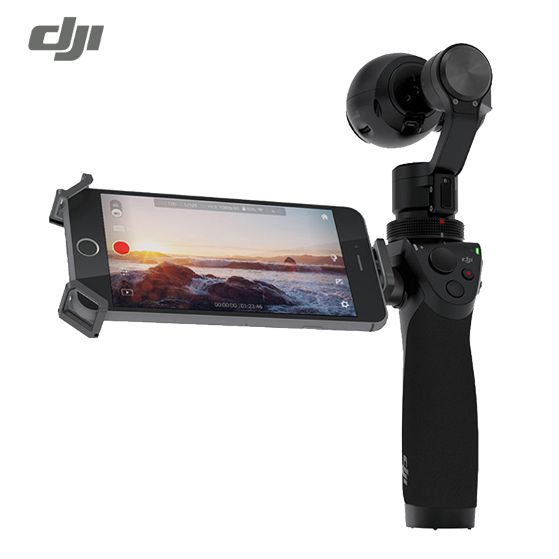 DJI OSMO handheld stabilizer Zenmuse X3 3-Axis Gimbal and 4K 12MP Camera EU Plug