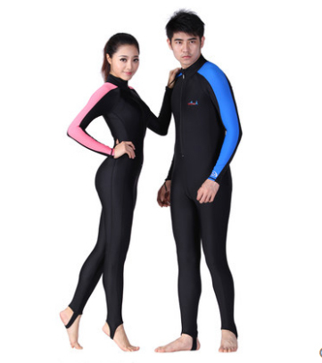b748536ff8 Fashion One piece Swimsuit Plus Size Wetsuits Lycra Surfing Womens surf  clothes neoprene Swimming Suit for Men Kids Scuba Diving-in Men s Costumes  from ...