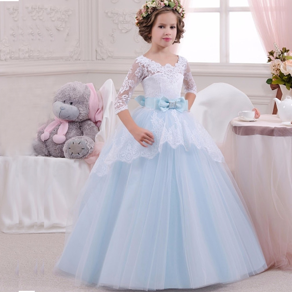 Christmas Princess Aurora dress Kids sleep beauty long dress Girls ...