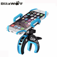 BlitzWolf BW MH2 Heavy Duty Bike Phone Mount Holder With Tight Rubber 360 Dgree Rotate