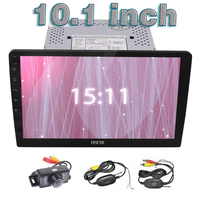 10 1 Car Stereo Android 6 0 Quad Core Double Din Head Unit In Dash Bluetooth