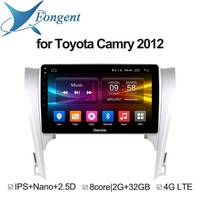 Intelligent Multimedia Player For Toyota Camry 2012 Car Android Unit radio DVD GPS Navigoter stereo Audio Vehicle Computer Video