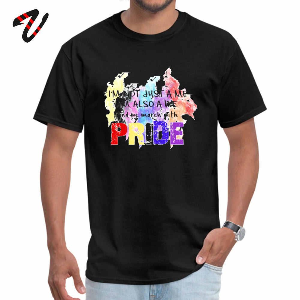 A la moda estar orgullosos. Camiseta Casual para el Día del Trabajo de La Manga del desgaste de la calle
