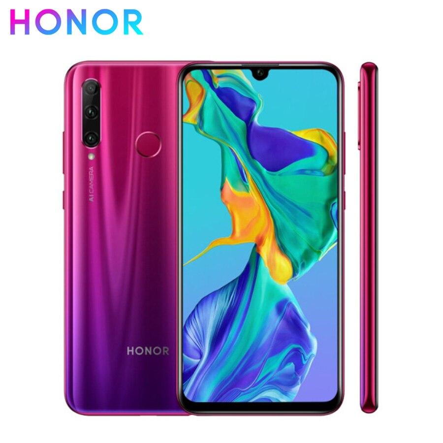 "Brand new Honor 20i 4G LTE Mobile Phone 6.21"" 6GB RAM 64GB ROM Octa Core Kirin 710 Android 9.0 32.0MP Face ID Fingerprint Phone"