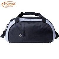 YUETOR OUTDOOR Mens Waterproof Sport Bags Portable Travel Handbags Bolsa Academia Bolsa Esportiva Nylon Gym Bag for Traveling