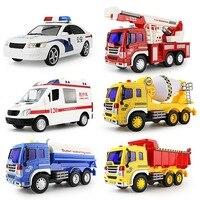 134134 Hne большой musicambulance пожаротушения инерции детская игрушка мальчик моделирование модель автомобиля 30 см