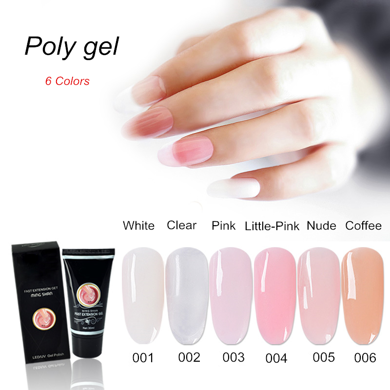 NEW product Poly gel crystal nails uv gel for nail art-in Nail Gel ...