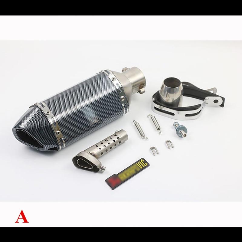 51MM Universal Motorcycle exhaust Muffler DB Killer Silencer For Honda YAMAHA