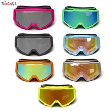 Triclicks New Arrival Protector Gear Glasses Adult Motorcycle Protective Gears Flexible Cross Helmet Motocross Goggles