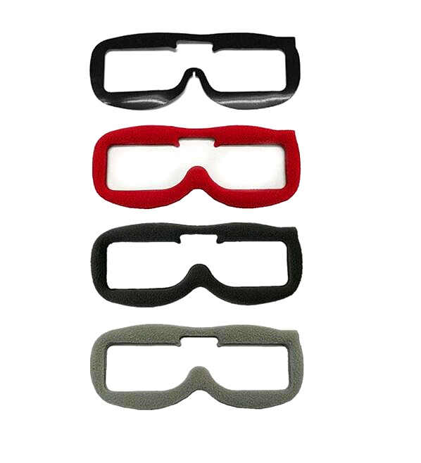 جديد ترقية خامة بلاستيك بولي يوريثين حراري غطاء إسفنج إسفنج وسادة ل FPV نظارات HDO HD2 HD3 V3 FatShark ضوء تسرب منع مريحة