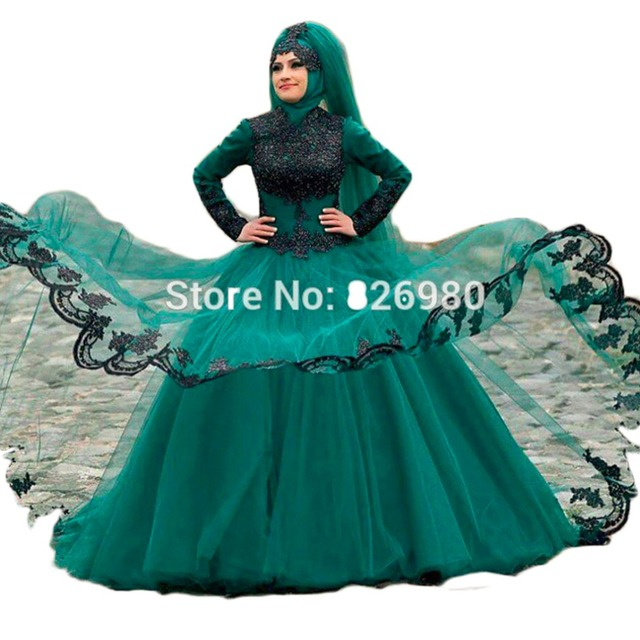 Turkish Wedding Dresses Black