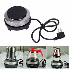 1PC EU Plug 220V 500W Electric Mini Stove Hot Plate Multifunction Cooking Coffee Heater New hot plates mini coffee furnace mini stove heating thermostatic power solid hotplate 500w