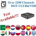 GOTiT Albanian Power IPTV+Android 6.0  KM8 S905X Arabic French Germany Netherlands Portugal Italian Adult xxx Europe IPTV Box
