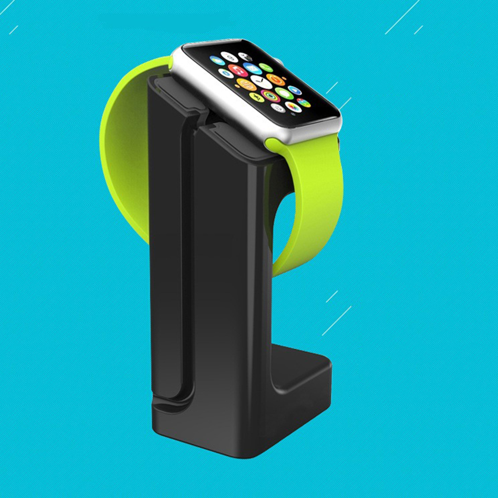 Watch Accessories For Apple Watch band iWatch strap bracket for Apple Watch charger station Plastic Bracket