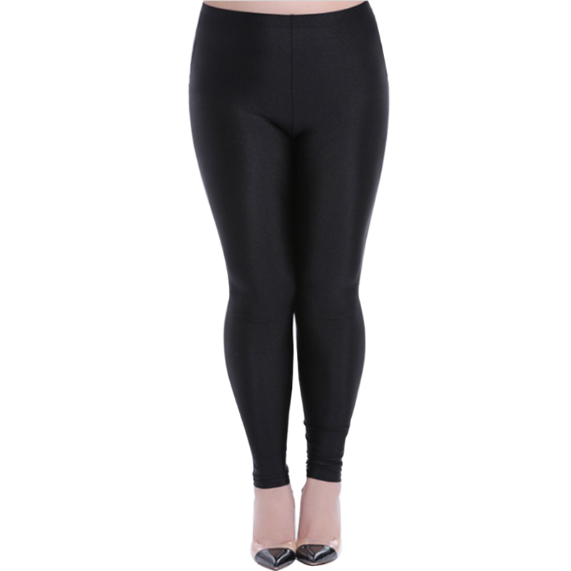 Women Pants Thin  Wearing Small Feet Trousers Leggings Super Plus Size 3XL 4XL 5XL Vadim High Elasticity Harajuku