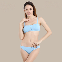 2019 women Bikini Textured Swimwear Women Swimsuit Sexy Low Waisted Solid Padded Bathing Suit Sexy Biqunis sexy paillette design low waisted solid color women s mini shorts