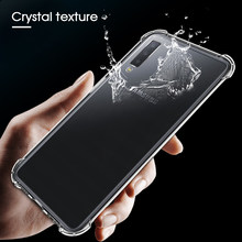 Soft Case For Samsung Galaxy A6S S9 S8 Plus Note 8 A7 A750 A9 A8 Plus 2018 J3 J4 J5 J6 J8 Plus 2018 Anti-knock Silicone AirBag(China)