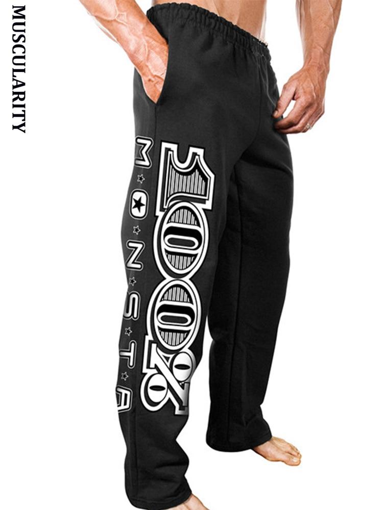 2018 Neue Jogger Hosen Männer Jogginghose Acht Grundlegende Einfach Große Größe M-4xl Personalisierte Mode Casual Hosen Exquisite Gedruckt