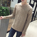 2016 New Autumn Fashion Brand Men Sweaters Pullovers Knitting Thick Warm Designer Slim Fit Casual Knitted Man Knitwear
