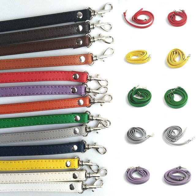 120cm Detachable Bag Handle Replacement Bags Strap Women PU Leather Shoulder Bag Parts Handbag Belts Strap Bag Accessories