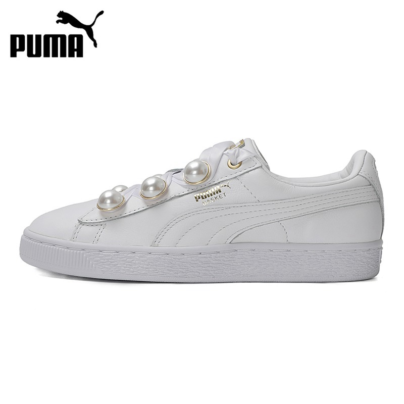 Original New Arrival 2018 PUMA  Basket Bling Women's Skateboarding Shoes Sneakers