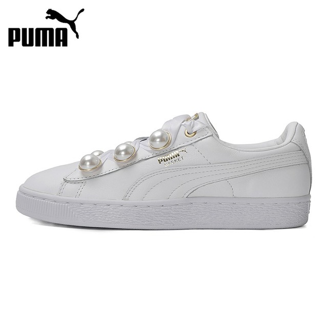 Original New Arrival 2018 PUMA Basket Bling Women s Skateboarding Shoes  Sneakers a12d31e277b1