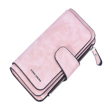 New Long Cell phone Pocket Women Wallet Top Quality PU Leath