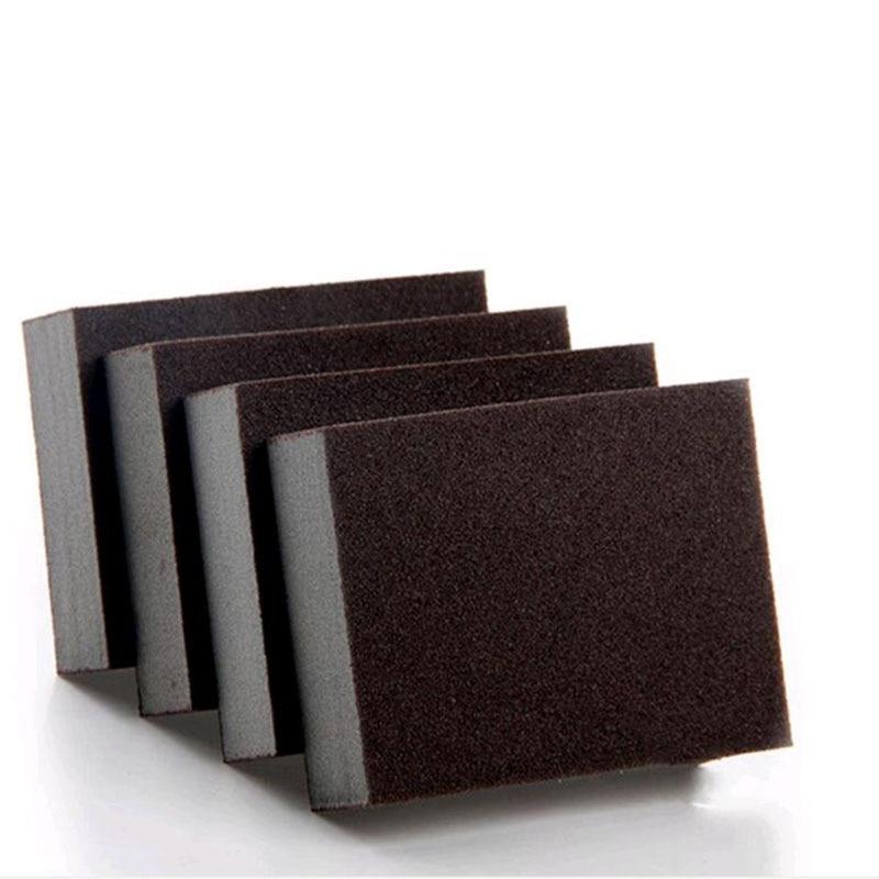 Goma de borrar mágica de esponja para eliminar óxido, algodón de limpieza esponja de esmeril, melamina, suministros de cocina, descalcificación limpiar, frotar, olla, 1 Uds.