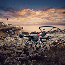 2016 Large aeria RC Quadcopter Helicopter with FPV Real-time transmission display HD WIFI Camera 2.4G 6Axis RTF VS X8W H11D