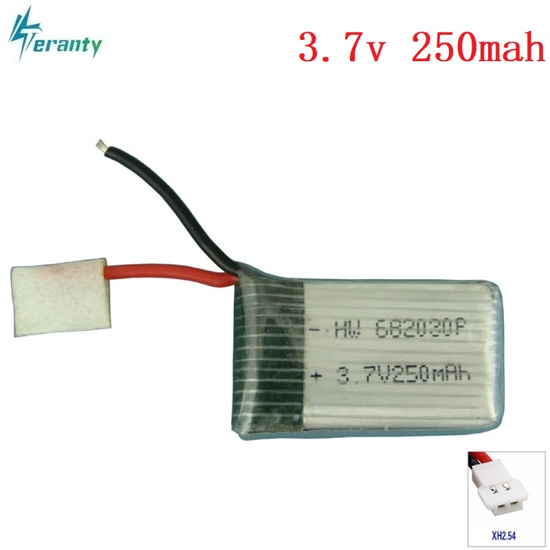 3.7V 250mAh 682030 20c Lipo Battery For X11C Remote Control Aircraft Accessories 3.7 V 250mAH 20C Discharge 3.7v Li-po Batteries