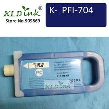 PFI-706PC глянцевыми голубыми чернилами картридж(PFI-704 6685B001 чернил) Совместимость с imagePROGRAF iPF8300, iPF8400S, iPF9400