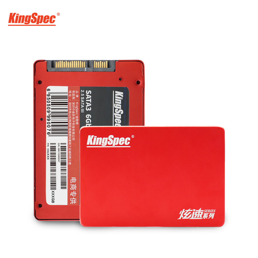 2019 Hot KingSpec 2.5 Inch SATA SSD 960GB Internal Hard Drive SATA3.0 Disk SSD 960G HD Disque Dur For Acer Gaming Laptop Desktop image