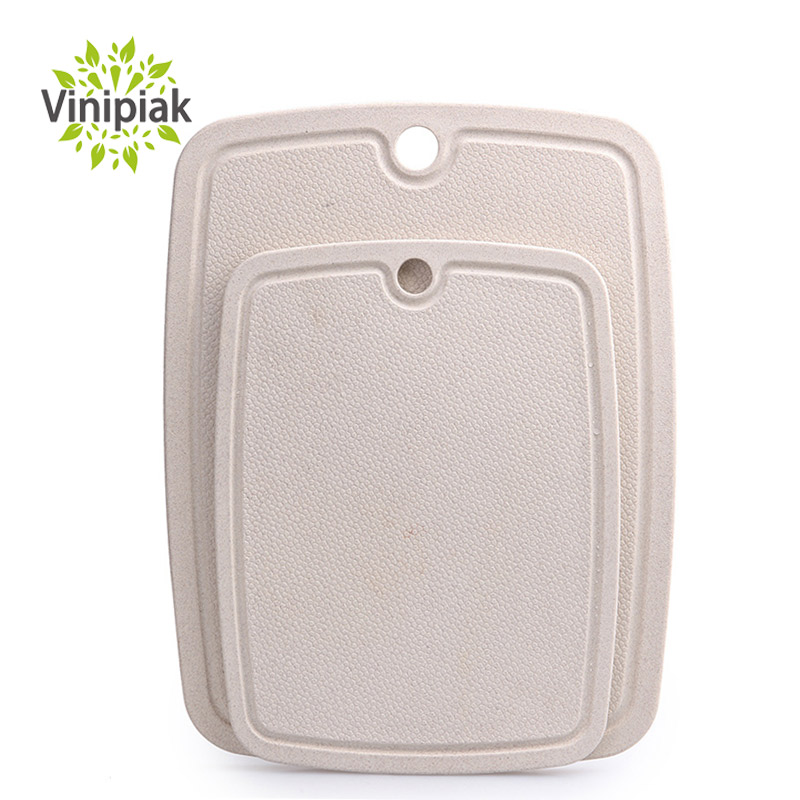 Kitchen Fruit Vegetable Chopping Board Chopping Blocks Anti-skid Moldproof Antibiotic Wheat Cutting Board
