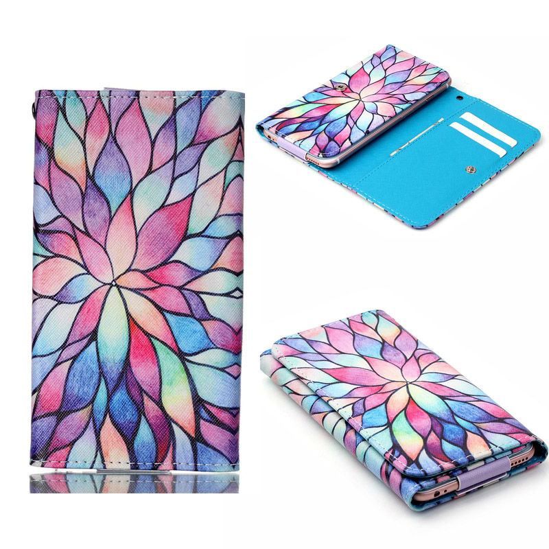 12 Colors Wallet Book Style Leather Phone Case Universal cover For Ulefone Future Power Vienna Paris U007 Be Pure Be Pro 2
