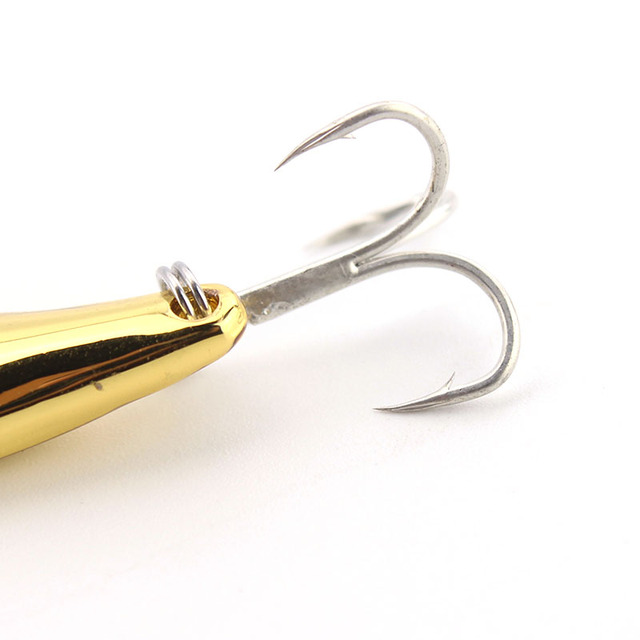 Spoon Fishing Lure Wobblers Metal Spoonbait Sharpbelly Lure bait 15g/20g Hook Fishing Tackle Long Casting Sink Type Faik Bait