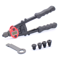 11Inch (280Mm) Heavy Duty Hand Rivets Tool Double Hand Manual Riveting Tool Hand Riveter Tool 2.4 4.8Mm