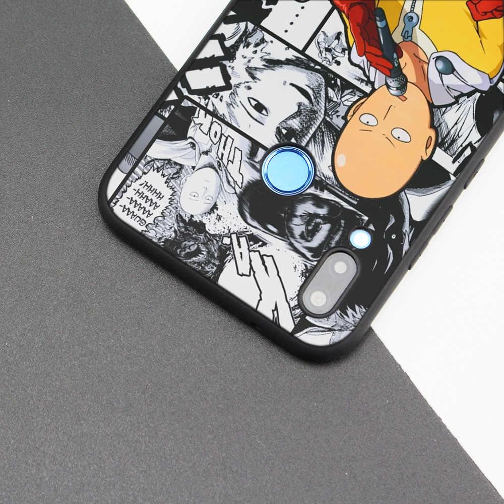 Cubierta de la caja de silicona para Huawei P20 P10 P9 P8 Lite Pro 2017 P inteligente + 2019 Nova 3i 3E teléfono casos un golpe hombre Anime