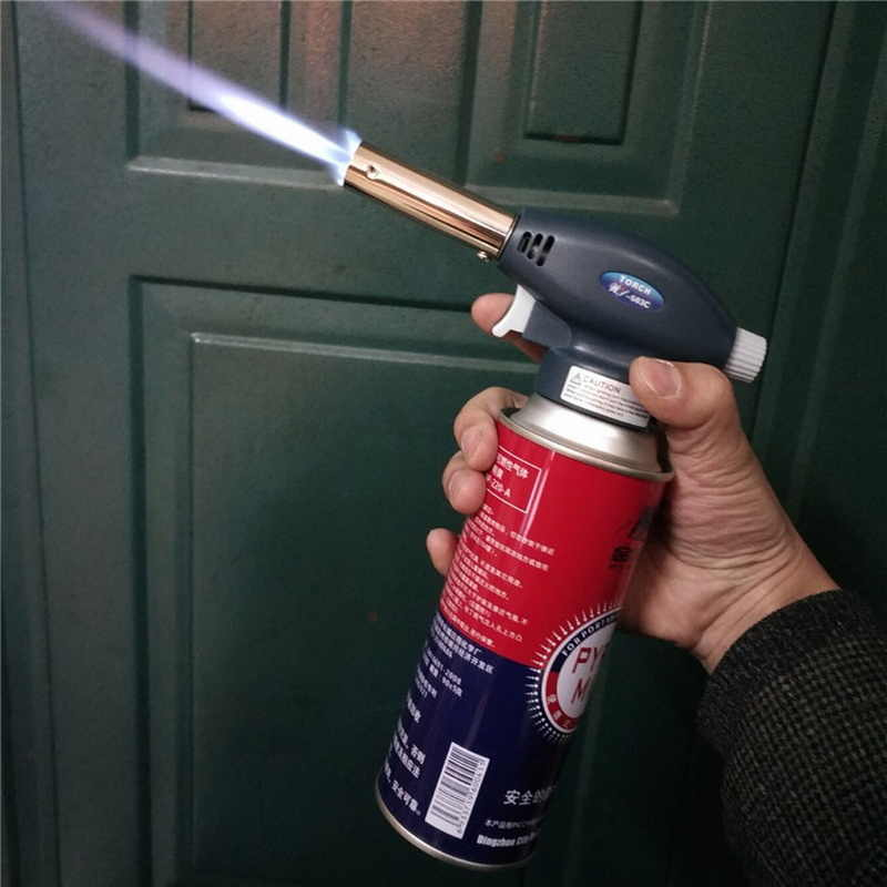 Professional Butane Torch Welding Torches Portable Igniter Multifunction Welding Torches for Welding Cooking Survival Outdoors