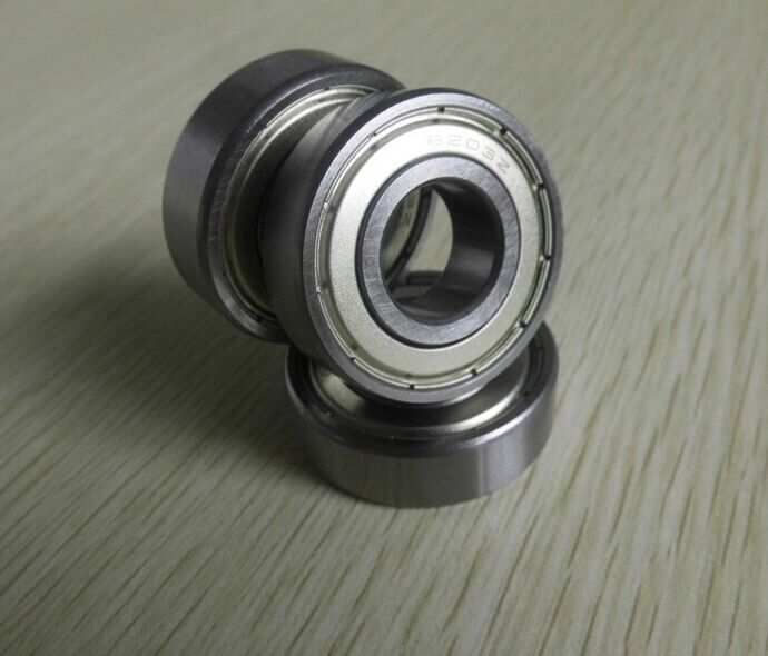 cost performance 6203ZZ size 17x40x12mm GCr15 material Miniature Mini Bearing Deep Groove Ball Bearing image