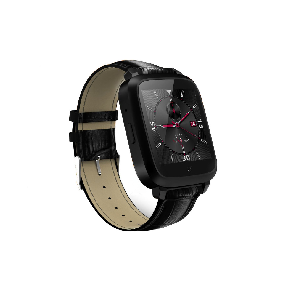 Bluetooth Heart Rate Monitor Smart Watch U11S BT4.0 With Genuine Leather Strap For iOS Android Smartphones f2 smart watch accurate heart rate