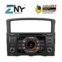 7 «HD Android 8,0 автомобильный DVD для Mitsubishi Pajero V93 V97 2006 + авто радио FM gps навигации аудио-видео плеер резервного копирования Камера