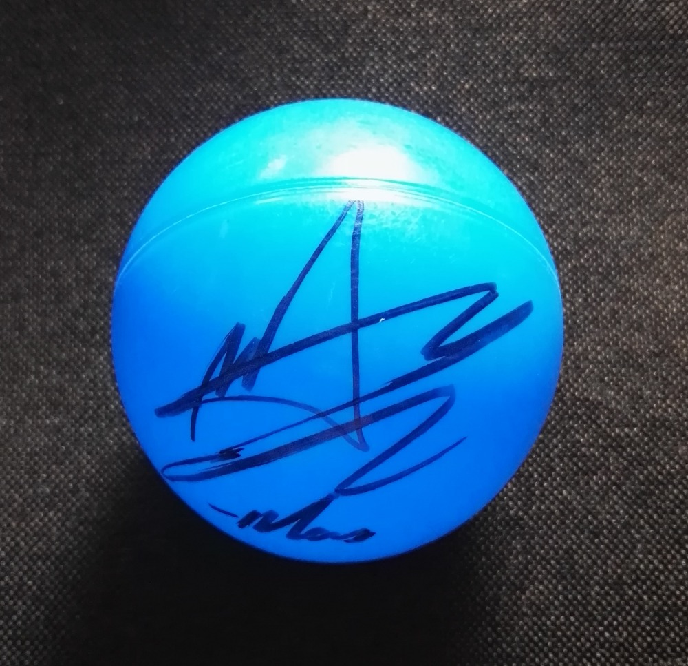 hand signed NCT DREAM MARK autographed concert ball K POP 122018