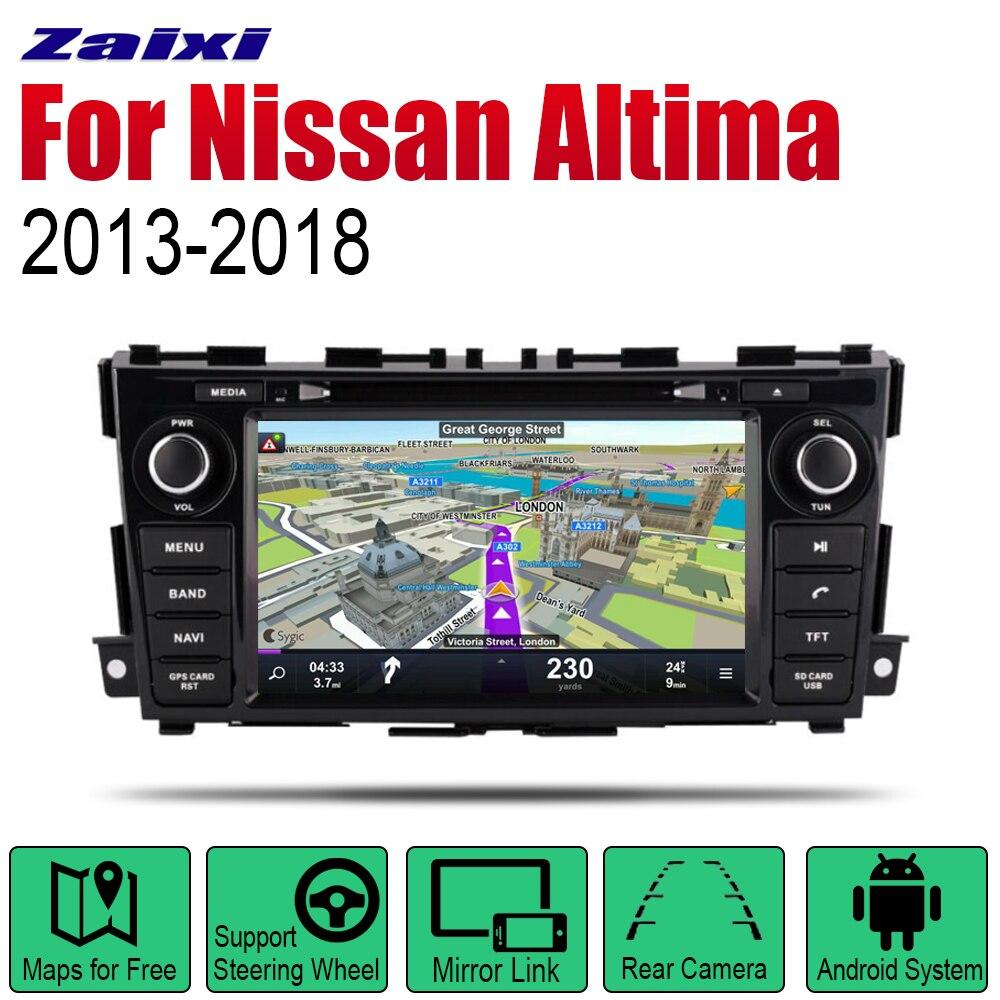 Android autoradio stéréo GPS Navigation pour Nissan Altima/Teana 2013 ~ 2018 Bluetooth wifi 2din autoradio stéréo multimédia jouer