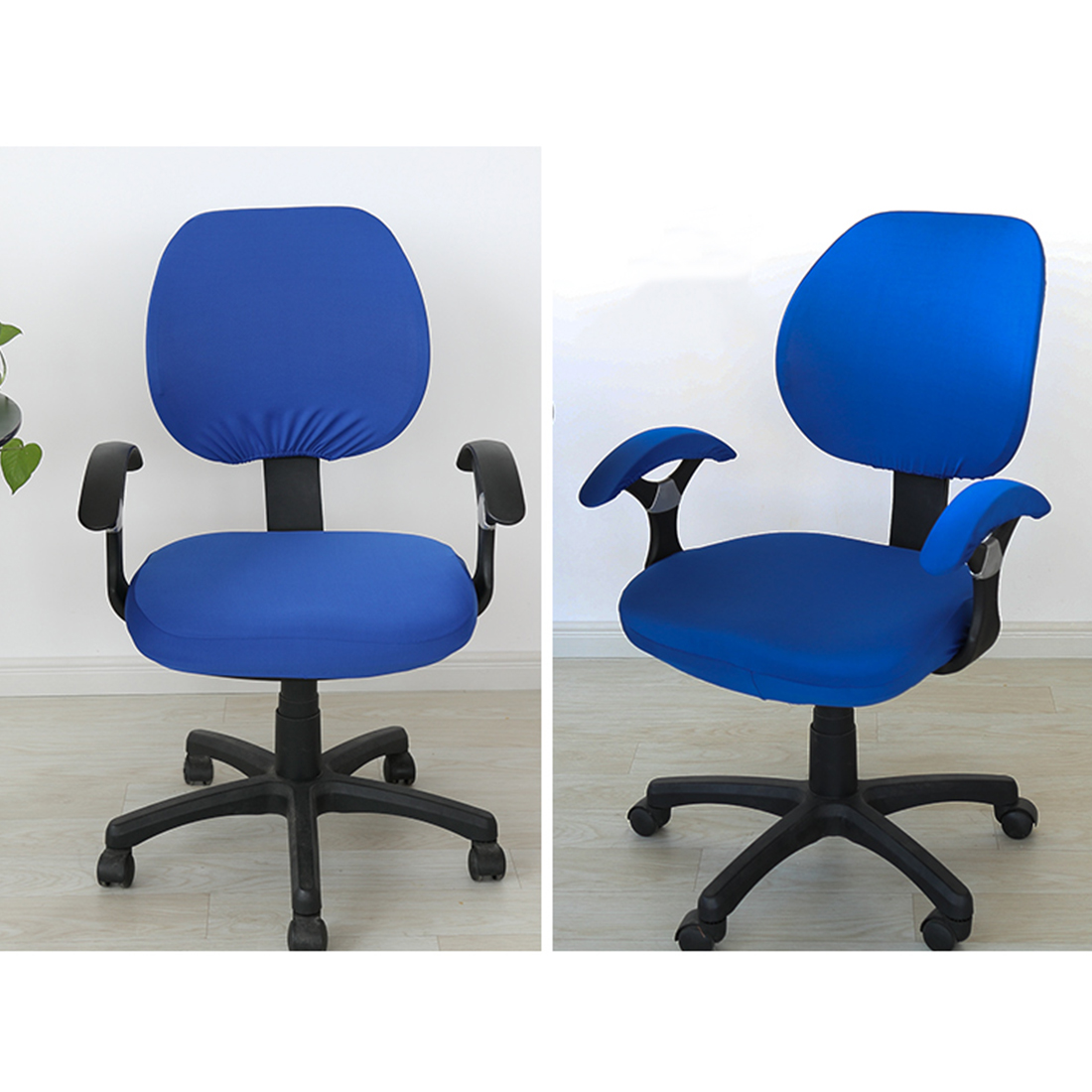 Top Sale Elastic Fabric Spandex Seat Covers For Computer Chairs Office Chair Gaming Chair Easy Washable Removeable